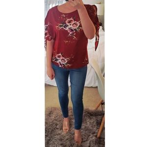 Floral blouse -small